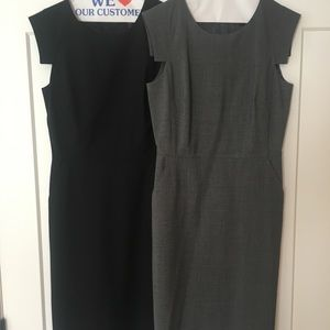 TWO Jcrew Resumé Dresses Size 4Tall